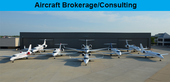 Aircraft Brokerage Consulting